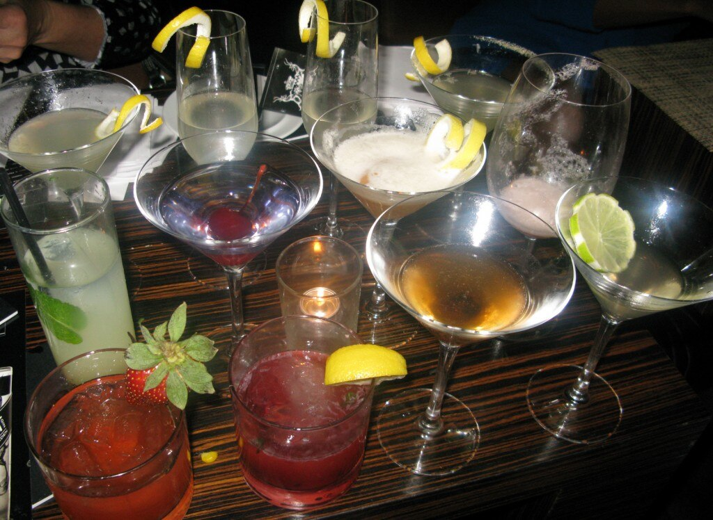 All the cocktails we had to judge