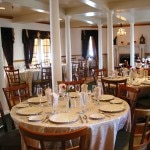 Dining room at the Grenville Restaurant