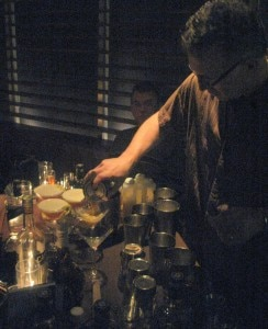 Mixologist Hector Bury from Joe's Restaurant