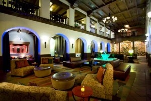 hotel andaluz lobby 300x200 Haunted Hotels