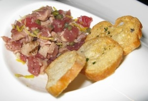 Tuna tartare from BOA Steakhouse