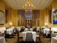 The dining room at Tocqueville, one of our Top 10 Thanksgiving Restaurants in New York