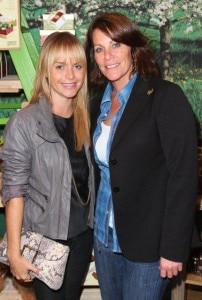 Actress Taryn Manning and VP of Brand Marketing & Communications Gail Simon