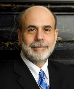Ben Bernanke, Chairman of the Federal Reserve Bank