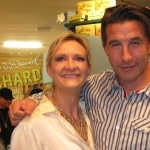 Billy Baldwin with Sophie Gayot