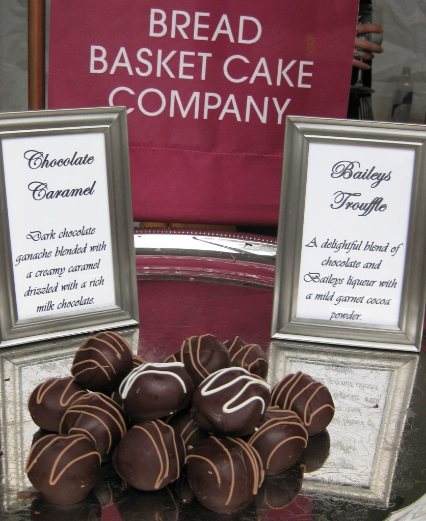 Bread Basket Cake Company chocolates