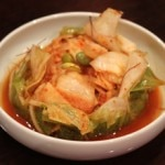 Kimchi is an excellent accompaniment to most entrees in Korean cuisine