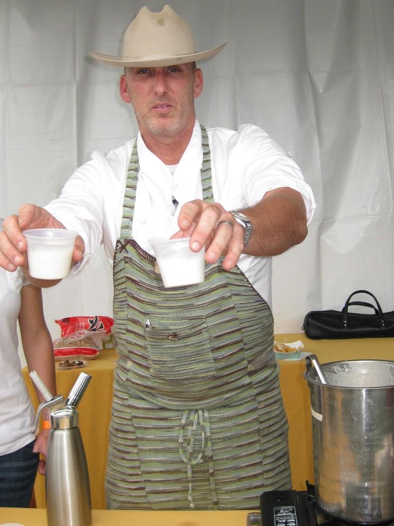 Chef Mark Gold of Eva Restaurant