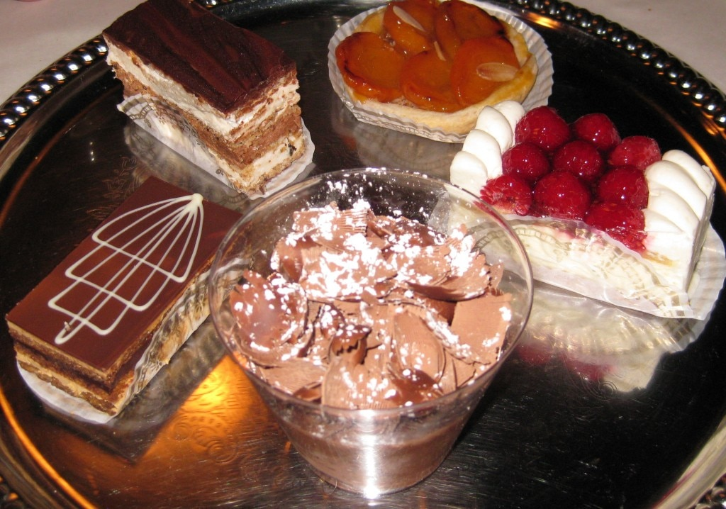 Some of chef Michel Richard's excellent pastries