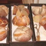 Chef David Féau makes the breads himself