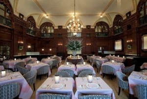 The Oak Room at the Plaza Hotel in New York City