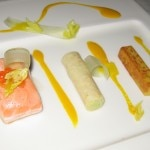 salmon celery 150x150 Good Room, but the Chef?