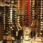 White wines wine room