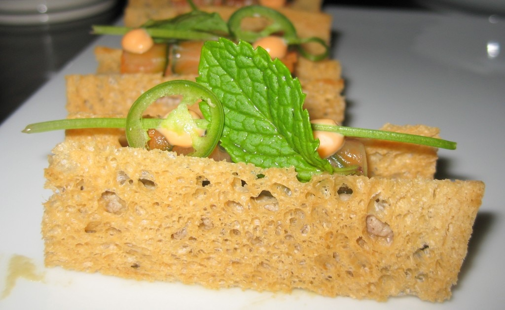 Foie gras with pâté de campagne
