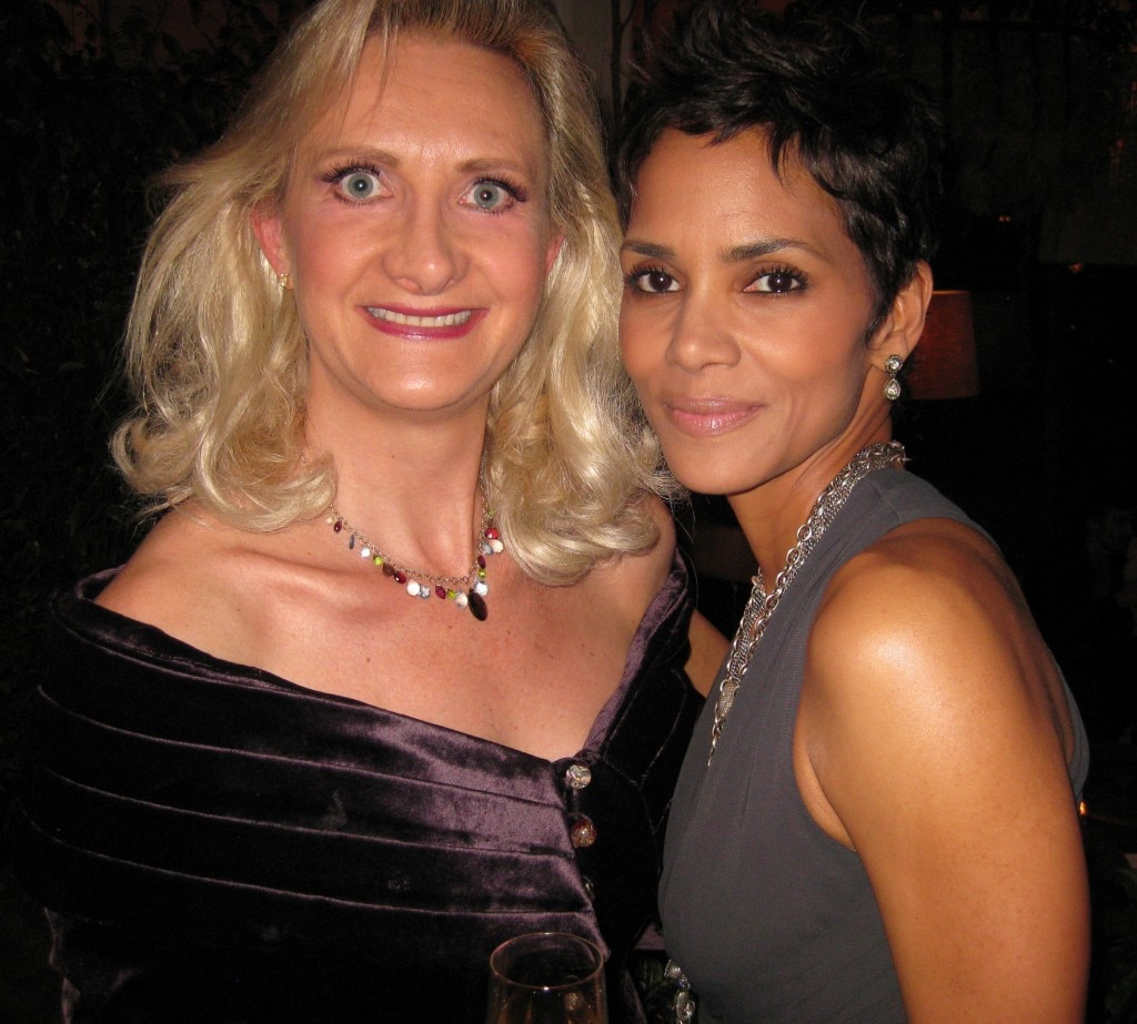 Actress Halle Berry & Sophie Gayot