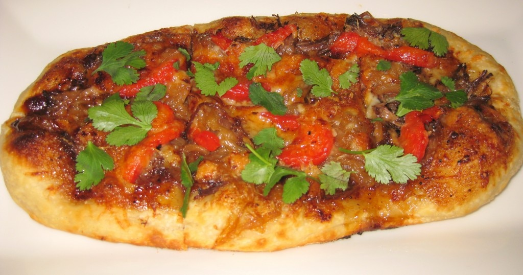 Kerry Simon's lamb pizza