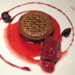 warm chocolate tart 150x150 Paris, Produce & Purple