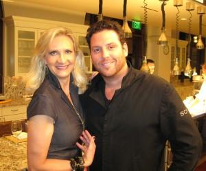 Sophie Gayot, Chef Scott Conant