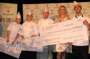 the winners 300x197 S.Pellegrino 2011 Almost Famous Chef Competition Winners