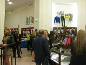 angeleno saks beverly hills 300x225 Festivities were spread across three floors of the Saks Fifth Avenue Mens Store in Beverly Hills