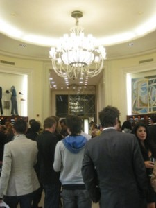 angeleno saks crowd 225x300 A packed house turned out for the Men of Style event