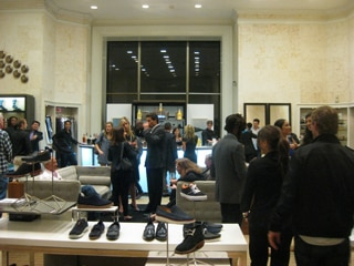 "Guests at the ""Men of Style"" event at Saks Fifth Avenue in Beverly Hills, CA"