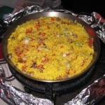 The paella of Joe's restaurant