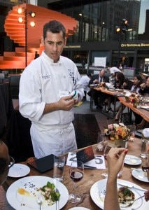 Chef Kevin Meehan of Café Pinot
