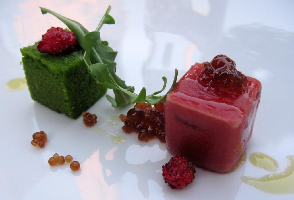 Foie gras by chef Michael Voltaggio