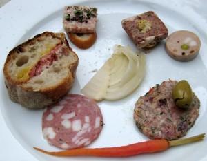 mozza plate charcuterie 300x234 Mozza restaurant charcuterie plate