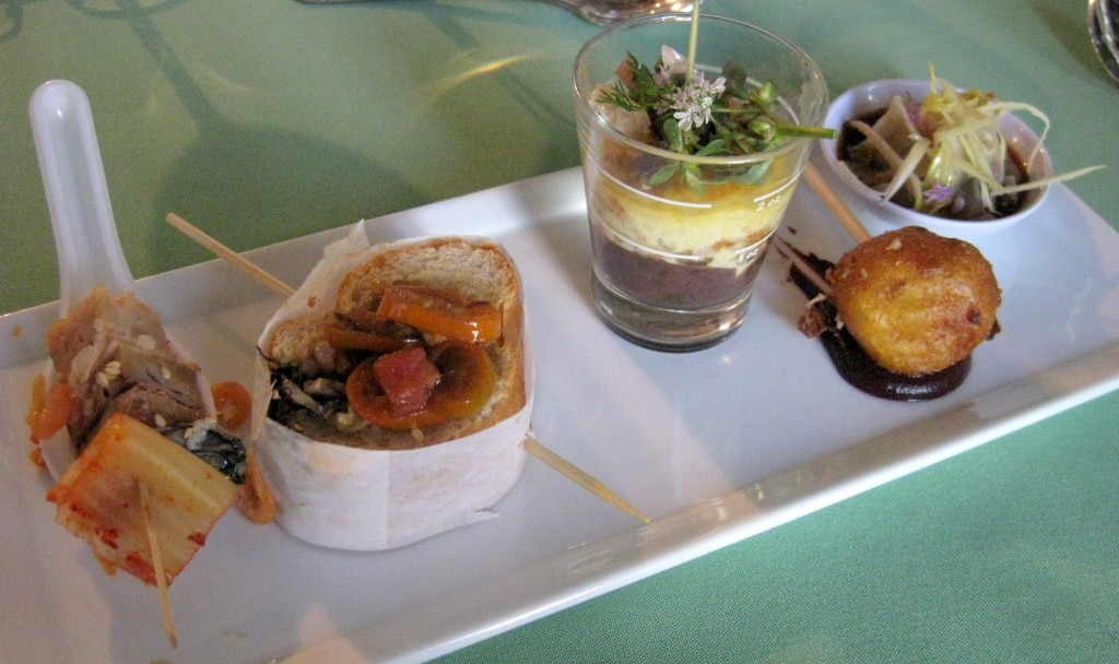 Palate Food + Wine's pork dishes