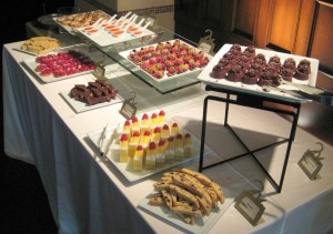 The other side of pastry buffet at Scarpetta brunch