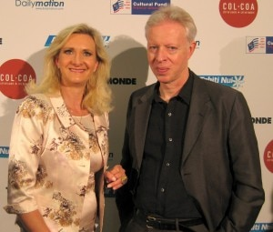Director Philippe Le Guay with Sophie Gayot