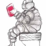 reading michelin guide 150x150 What Made Michelin Red?
