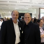 Alain Gayot with Steve Krajenka, VP for Retail Stores at Sony
