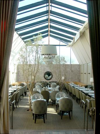 Tavern restaurant in Brentwood, Los Angeles, Calif.