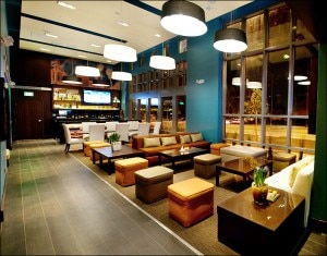 Bar BLVD in Studio City, CA offers creative cocktails in a posh, lounge-style environment
