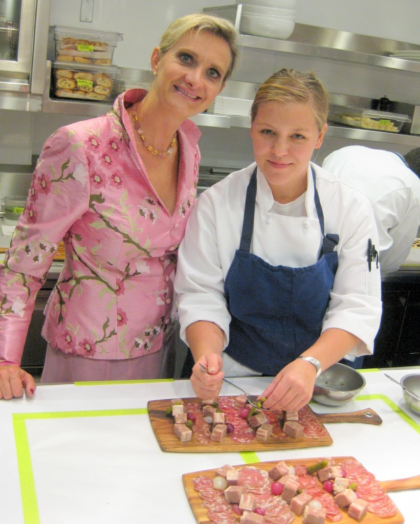 Hell's Kitchen Winner Season 4 Christina Machamer with Sophie Gayot