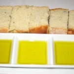 A selection of olive oils and bread