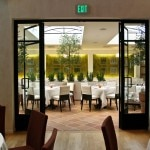 The patio at Fig & Olive