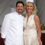 Rory Herrmann of Bouchon Beverly Hills with Sophie Gayot