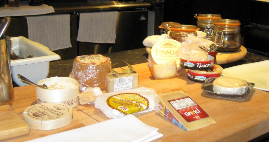 Cheeses at L'Epicerie Market