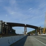 Progress report on Mulholland Bridge as of March 10, 2012