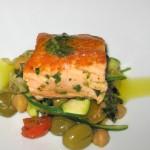 Salmon à la Andalucia