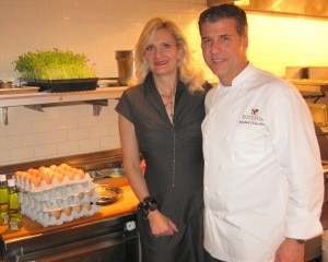 sophie gayot michael chiarello 300x240 Chef Michael Chiarello with Sophie Gayot