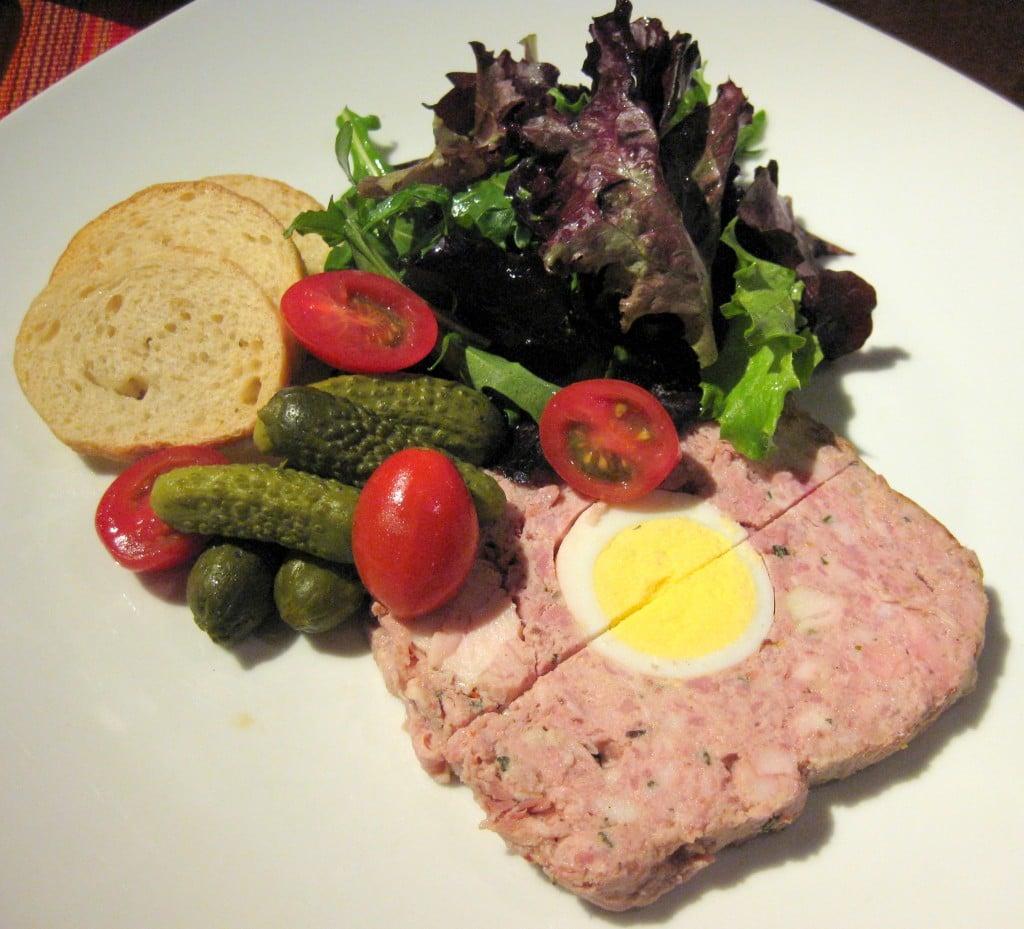 Terrine de campagne with Cumberland sauce