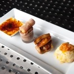 Dessert tasting: classic crème brûlée, chocolate duo, apple tarte Tatin and bread & butter pudding
