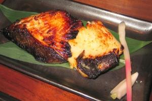 Gindara saikyoyaki: miso marinated black cod