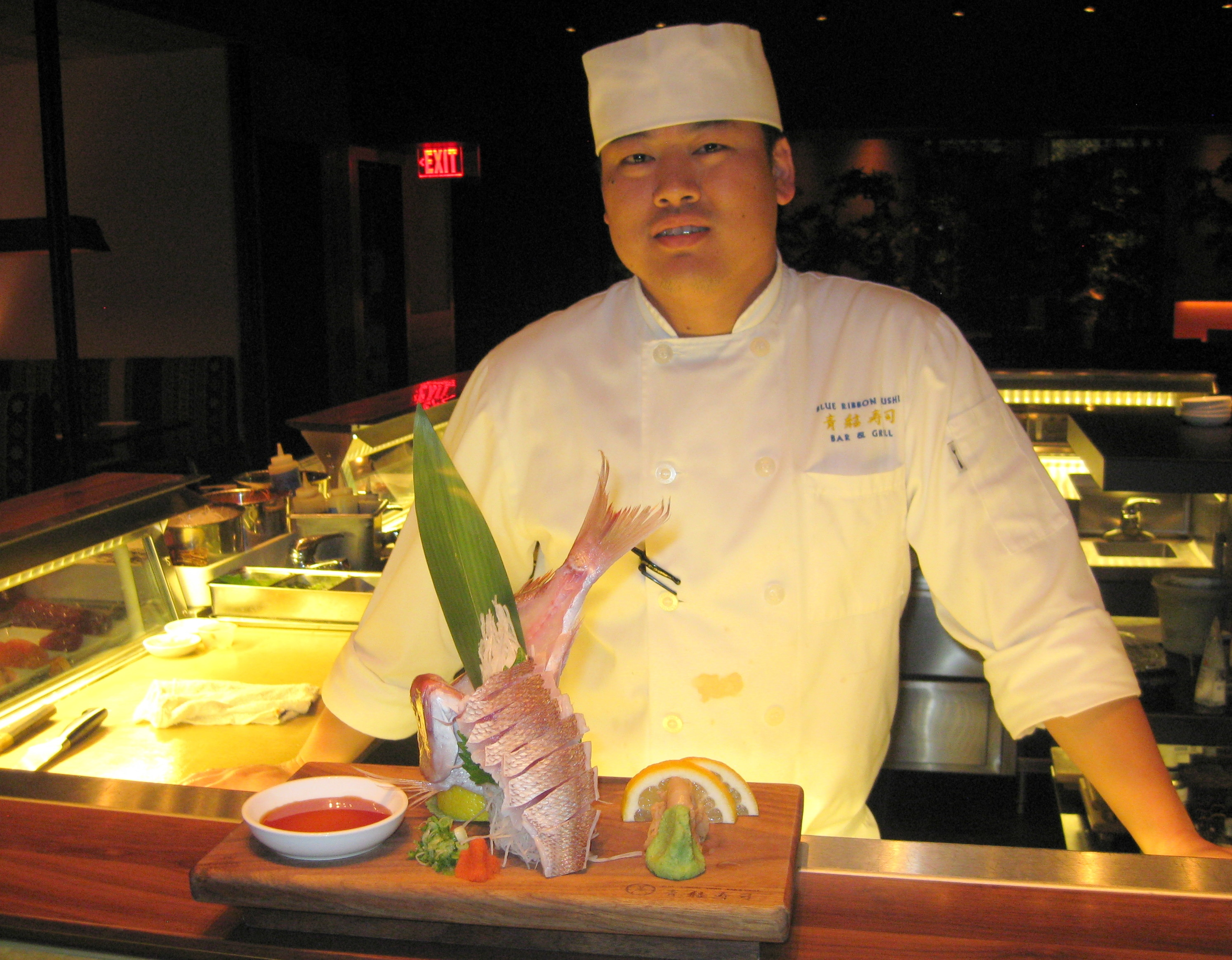 top sushi chef