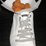 chicken fritters in shoe 150x150 Tapas & Zapatos